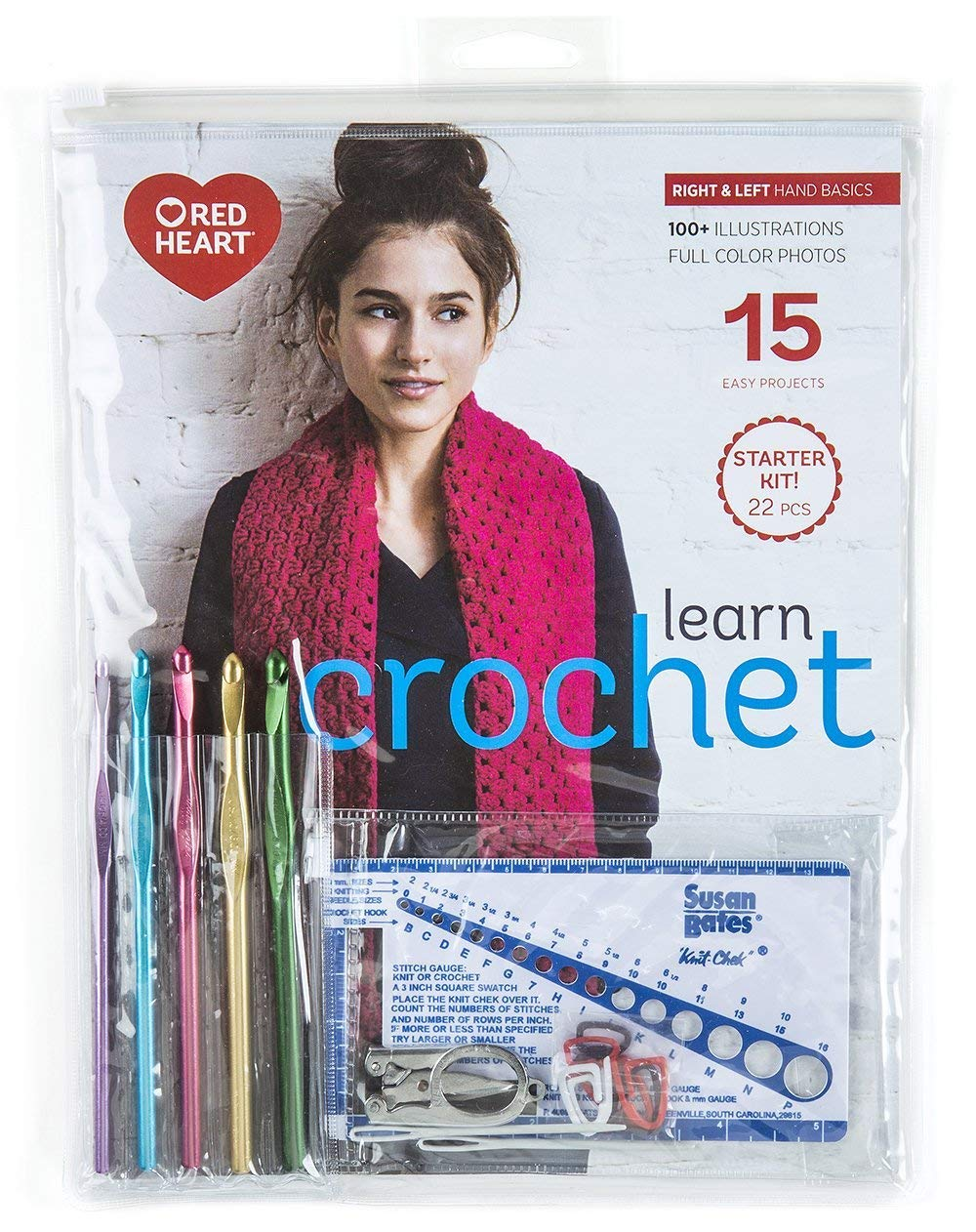Learn Crochet! Kit (Renewed)