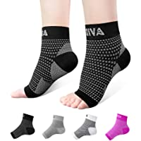 Ankle Brace for Men Women Pair AVIDDA Plantar Fasciitis Socks with Arch Support Compression Ankle Support Foot Sleeve…