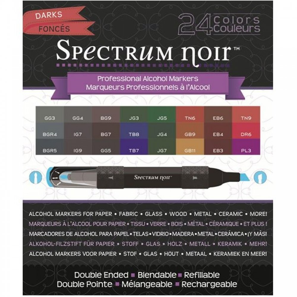 Spectrum Noir fibras de colores set de 24 ()