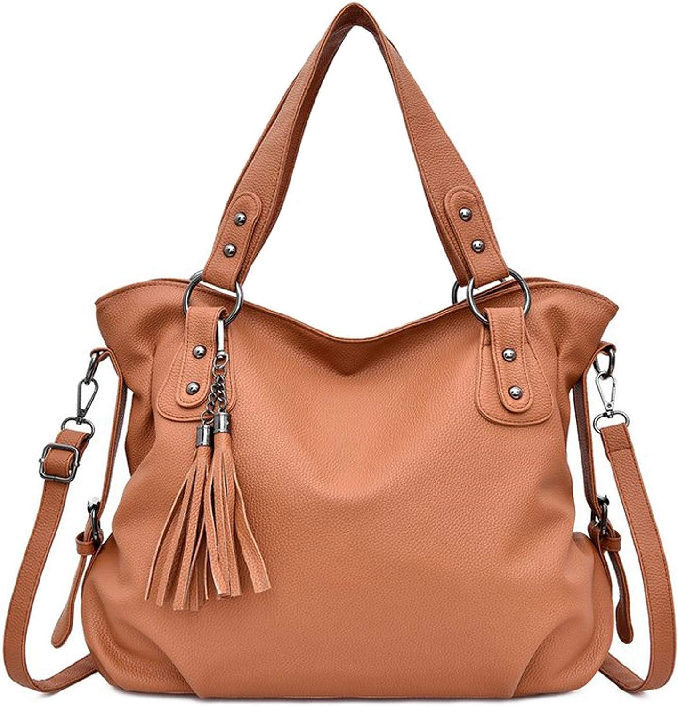 JOUDOO Tote Bag PU Leather...