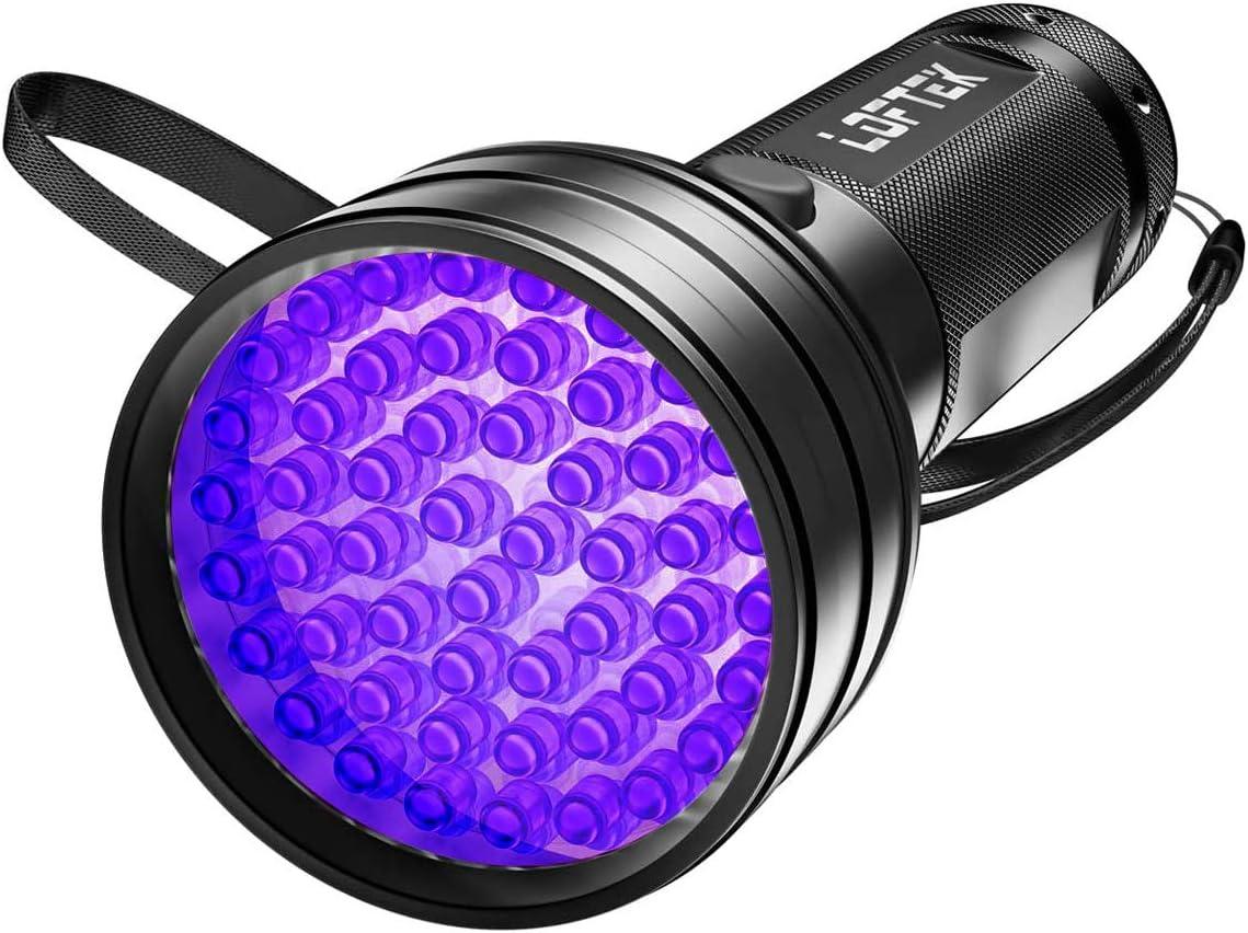 UV Ultra Violet LED Flashlight Blacklight Torch Inspection Lamp Light Bu KQ
