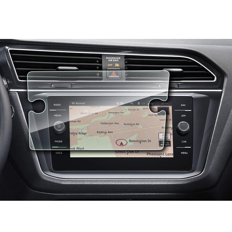 YEE PIN 2018 Volkswagen Tiguan Discover Media 8 Inch Navigation Screen Protector Glass, Display Screen Protection Film