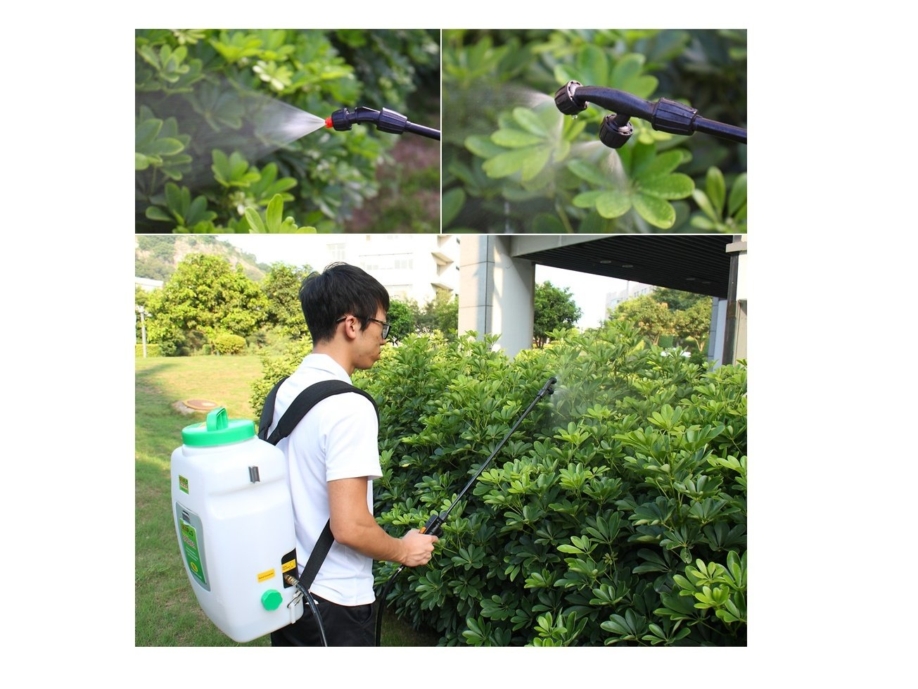 Knapsack Agricultural Electric Sprayer SeaFlo Model - 16 liter with 12-volt rechargeable battery - BC-3865 by Five Oceans (Image #5)