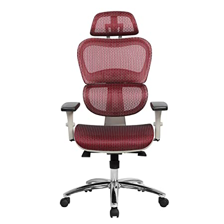 Techni Mobili RTA-5003-RED Office Chair, Red