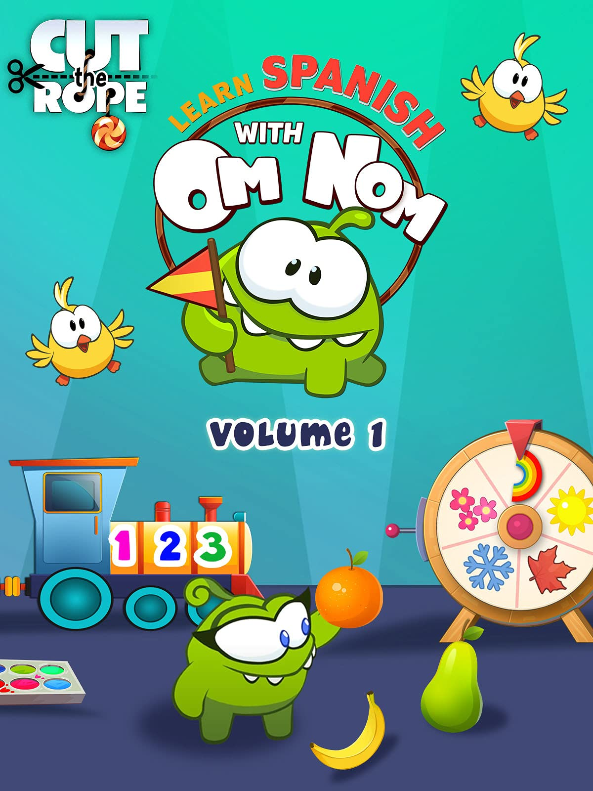 Cut the Rope: Learn Spanish with Om Nom (Volume 1)