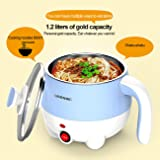 1.2L LIVEN Electric Hot Pot with 304 Stainless