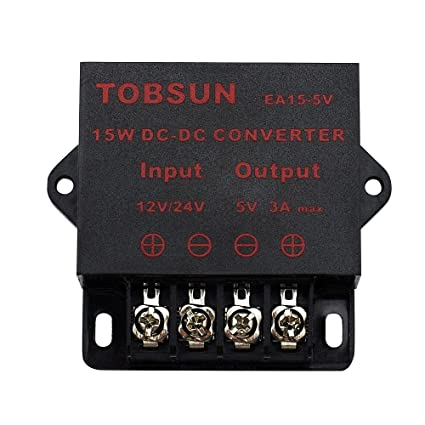 amazon com binzet dc converter step down regulator 5v regulated