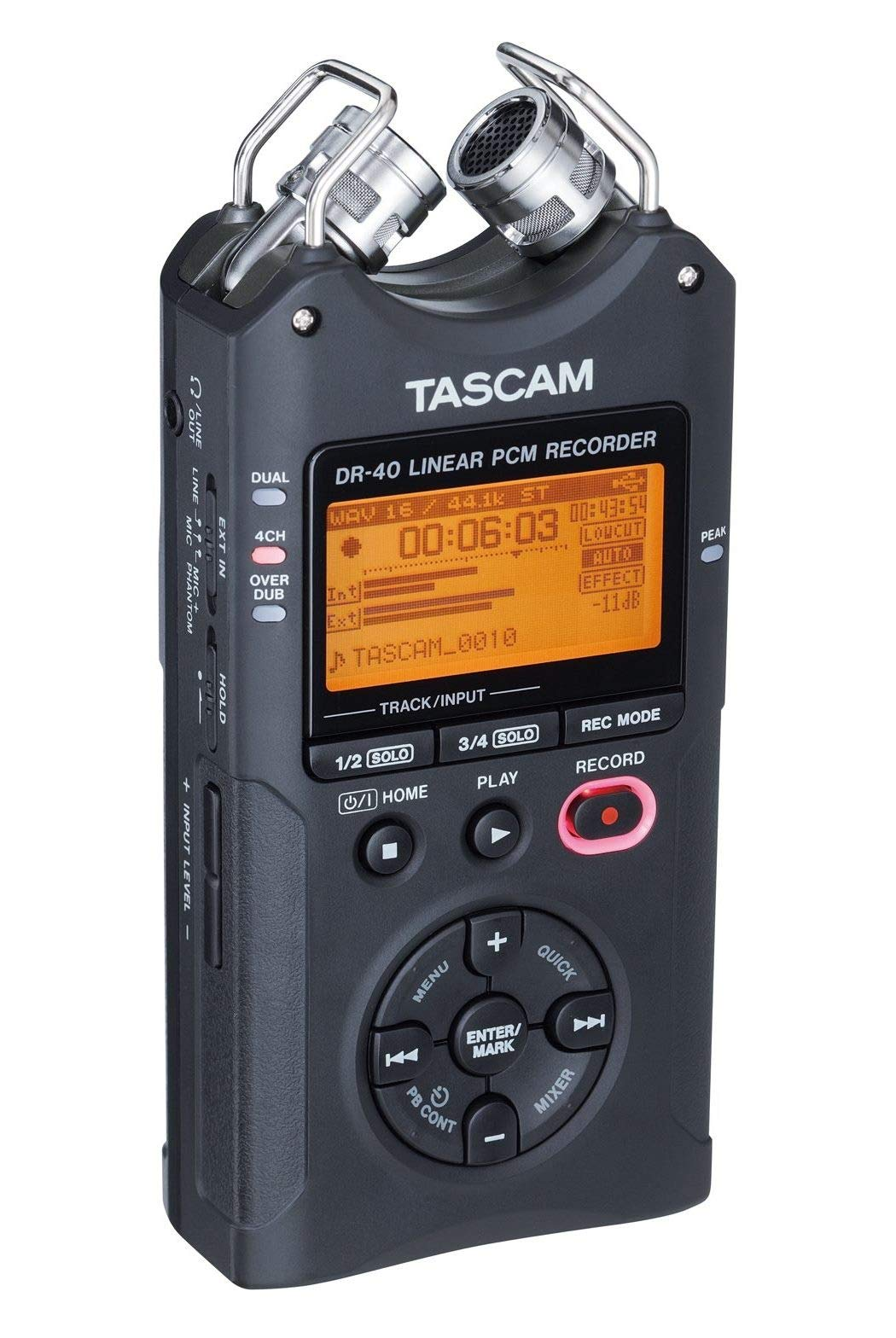 Tascam DR-40 4-Track Portable Digital Audio Recorder by Tascam (Image #10)