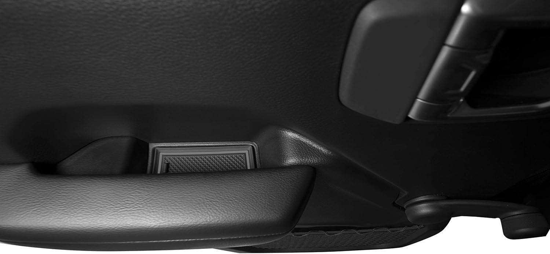 CupHolderHero for Jeep Wrangler JLU Unlimited Pink Trim Door and Center Console Liner Accessories 24-pc Set 2018-2020 Custom Fit Cup Holder 4 Door
