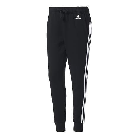 adidas S97117 Pantaloni da Tuta Donna, Nero/Bianco, L/S