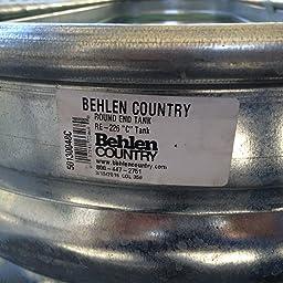 Amazon.com : Behlen Country RE223 Galvanized Steel Round