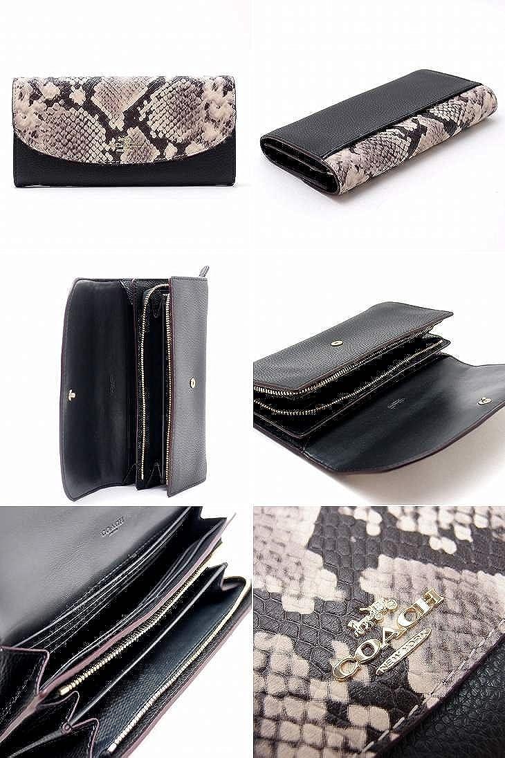 f3e769d4958c Amazon   [コーチ] COACH 財布 レディース COACH 長財布 パイソン 25939IMBLC [アウトレット品] [並行輸入品]    財布