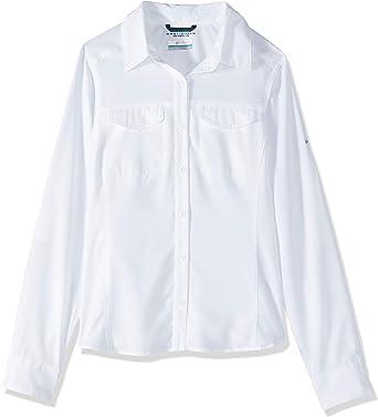 Columbia Silver Ridge Lite Camisa de Manga Larga para Mujer, protección Solar UV, Tejido Que Absorbe la Humedad: Amazon.es: Ropa y accesorios