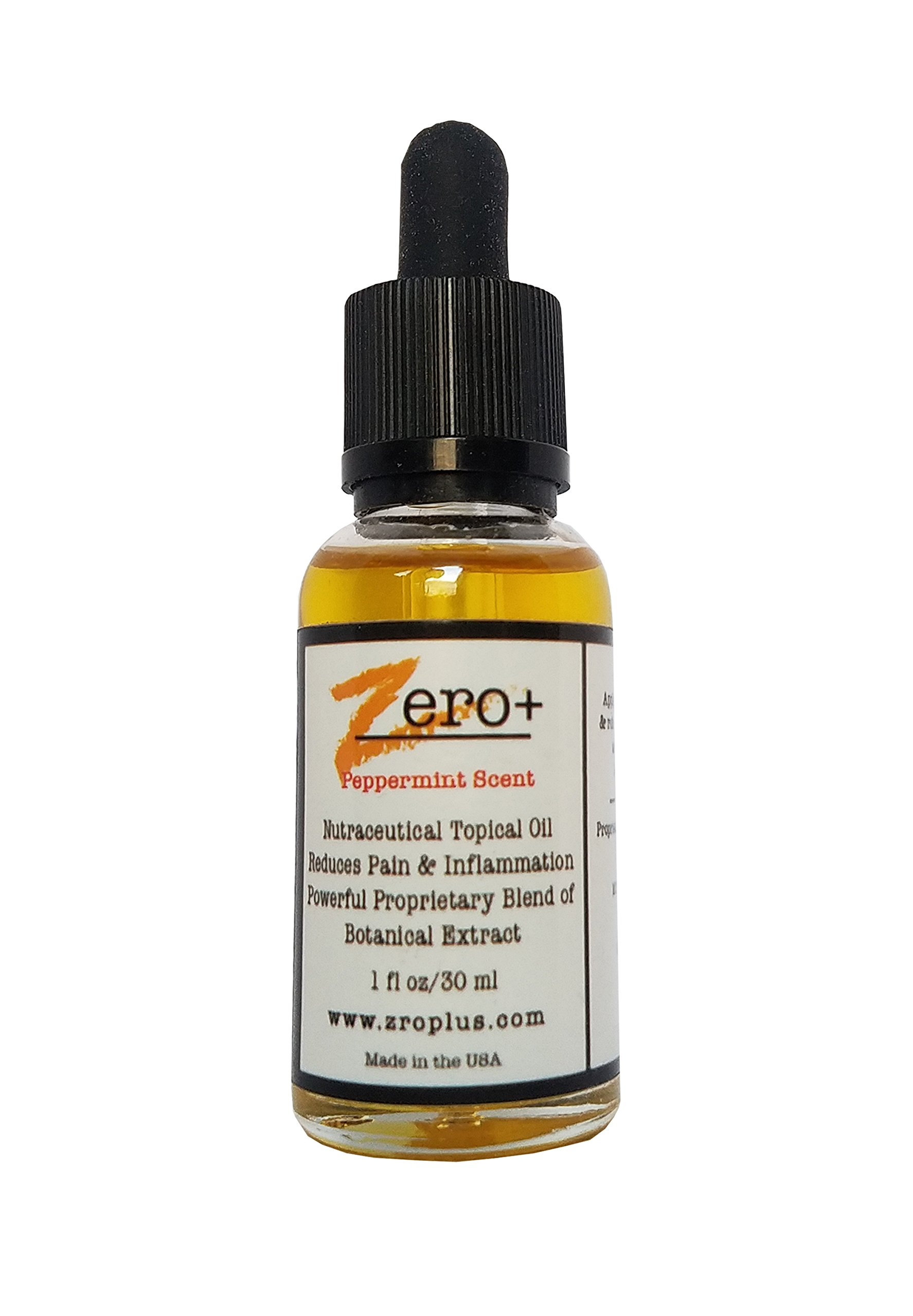 Instant Pain Relief Topical Oil by Zero+