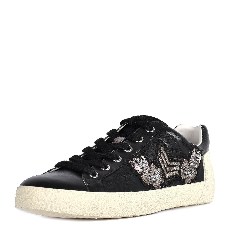 Ash Zapatos Nash Zapatillas de Ante Negro Hombre 41 EU|Negro