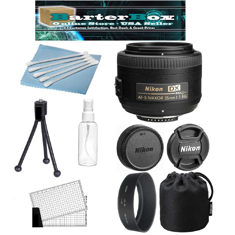 Nikon AF-S DX NIKKOR 35mm f/1.8G レンズバンドル + Nikon レンズポーチ & フード + プロフェッショナルシリーズキット   B07PQFWLQ4