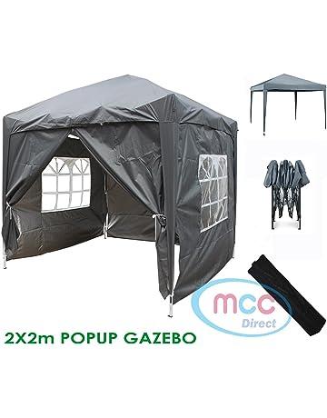 Mcc® Gazebo plegable impermeable del gazebo 2x2m , tienda del pabellón con la capa protectora