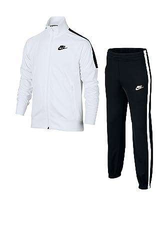 f6cc0901 Nike B NSW TRK SUIT TRIBUTE Tracksuit for Boys, Size XL, Colour White