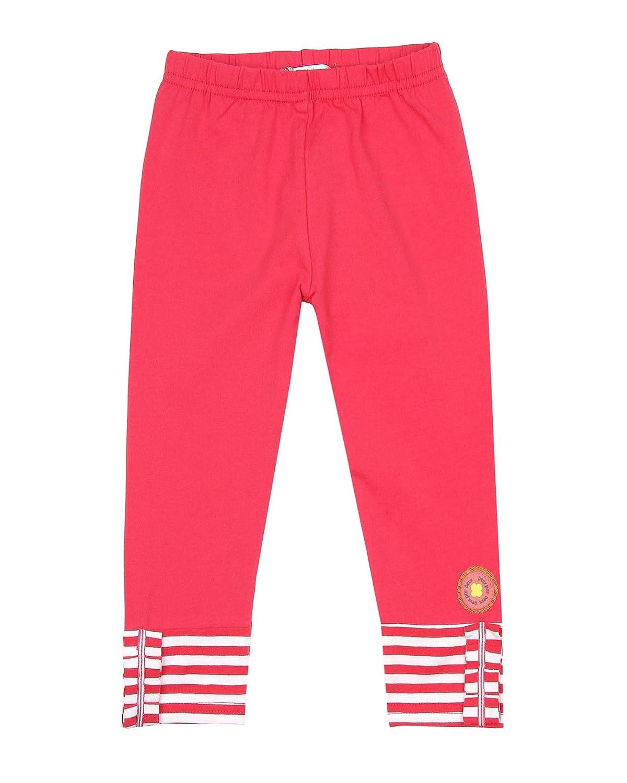 Sizes 18M-6 Deux par Deux Little Girls Leggings Flamingo Edit