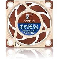 Noctua NF-A4x20 FLX, Ventilateur silencieux haut de gamme, 3 broches (40mm, Marrón)