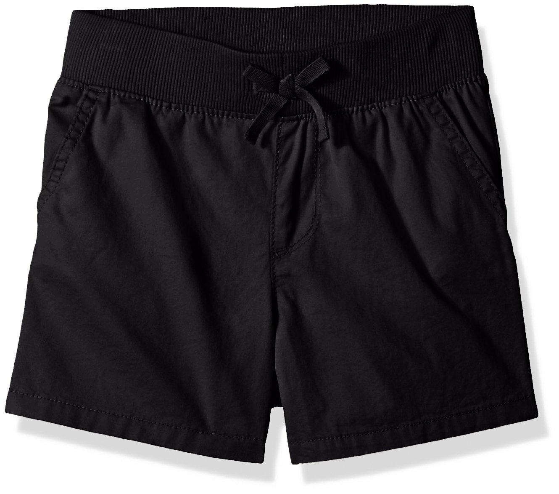 The Children's Place Big Girls' Fashion Shorts, Black 9608, 5 Plus