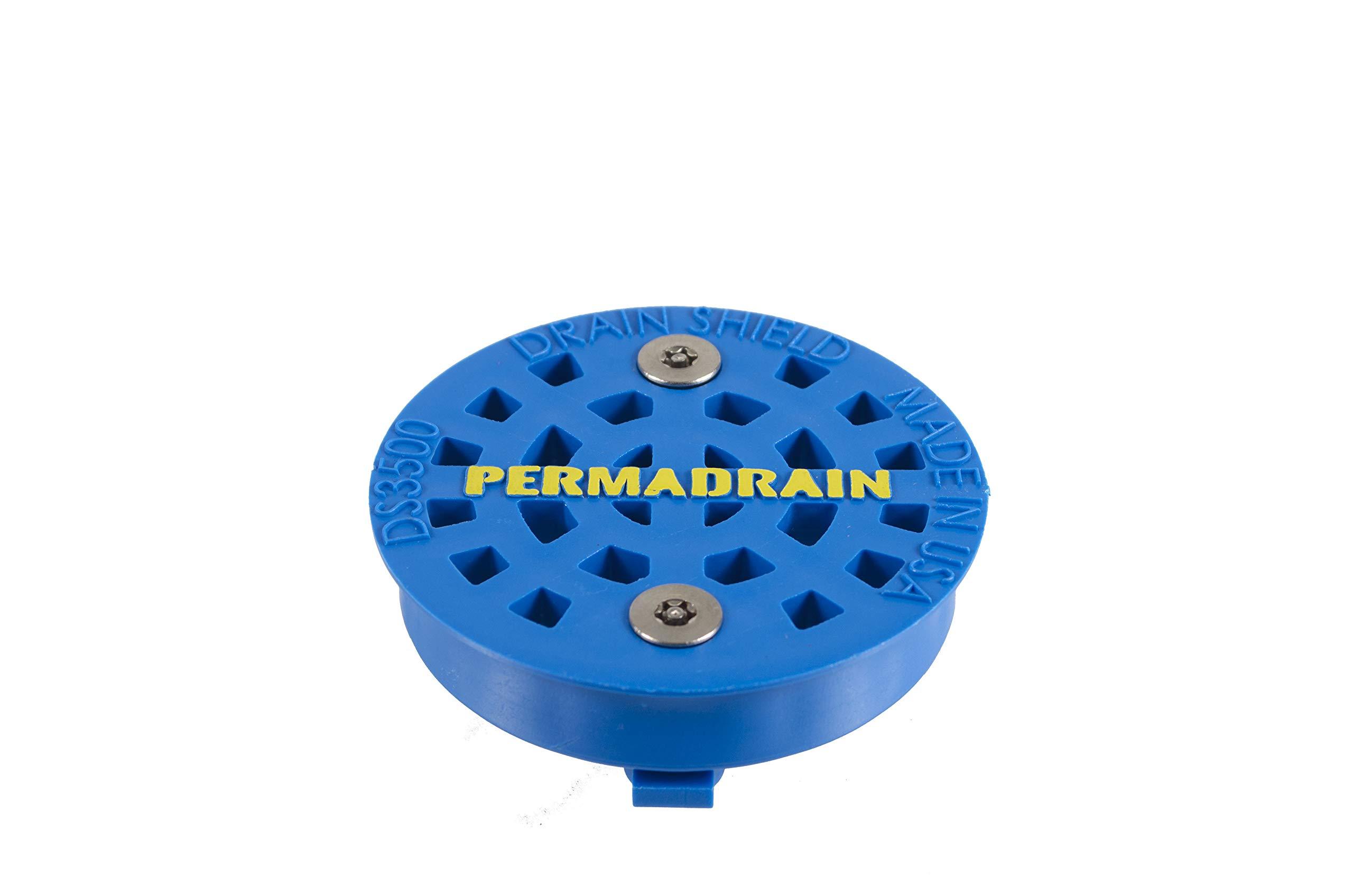 DrainShield 3.5'' Commercial Sink Strainer that Locks