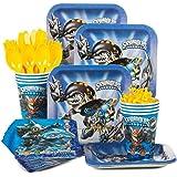 Skylanders Birthday Party Supplies Standard Tableware Kit Serves 8 by Costume SuperCenter