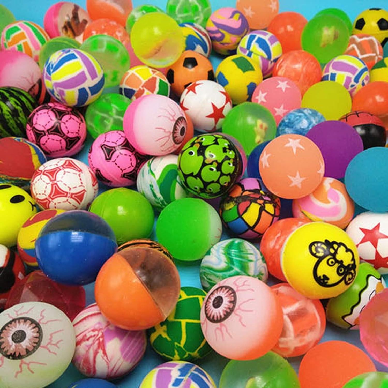 Spielzeug & Modellbau (Posten) Spielzeug 300 Stück Gummi Flummi Springball Gummiball Mitgebsel Tombola Geburtstag