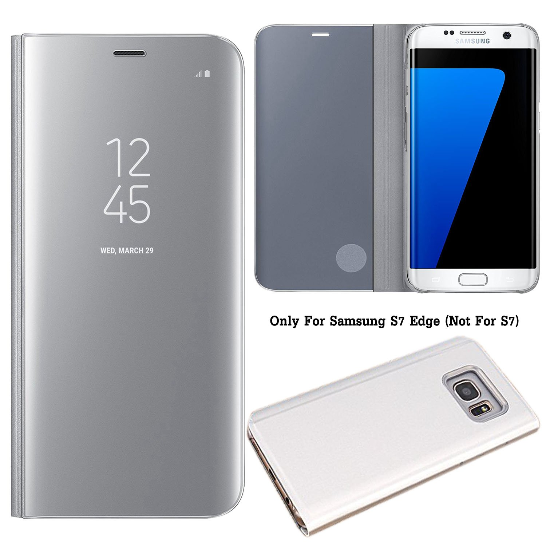 Guran® Mirror Efecto Espejo Funda para Samsung Galaxy S7 Edge ...