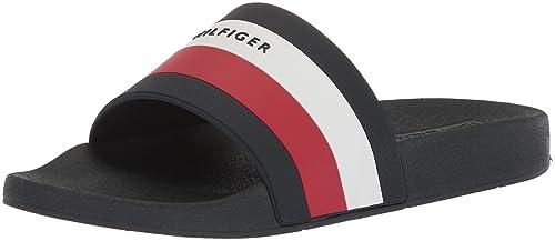 565618e46 Tommy Hilfiger Mens Earthy Slide Sandal  Amazon.ca  Shoes   Handbags