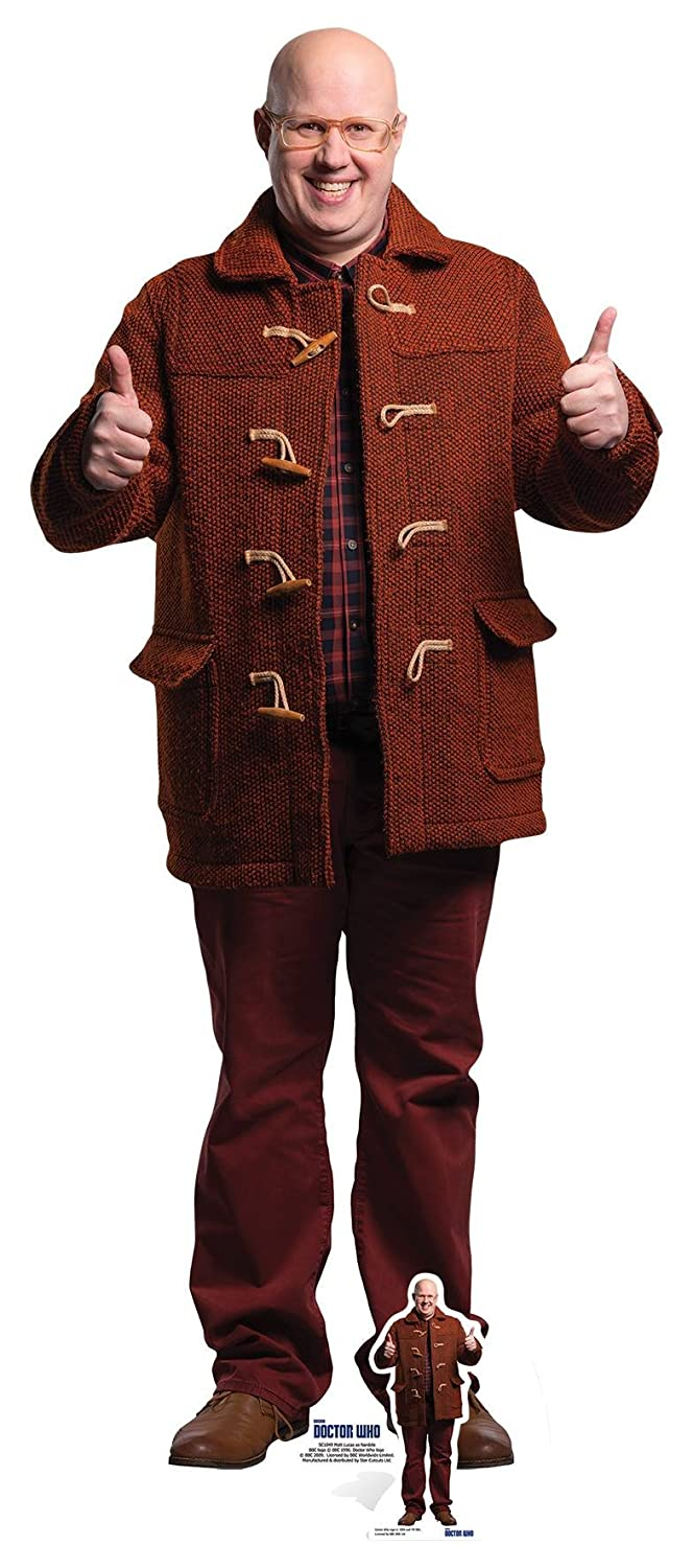 Multi-Colour DOCTOR WHO Nardole Life Size Cardboard Cut Out Comes with Free Table Top Cut Out