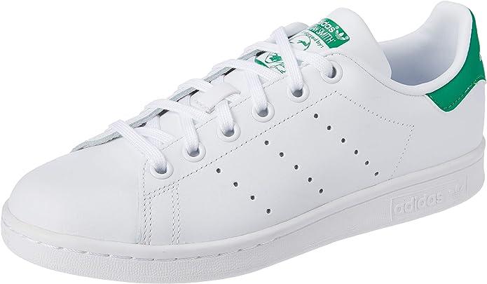 adidas Stan Smith Sneakers Jungen Mädchen Unisex Kinder weiß grün Größe 36 bis 38 2/3