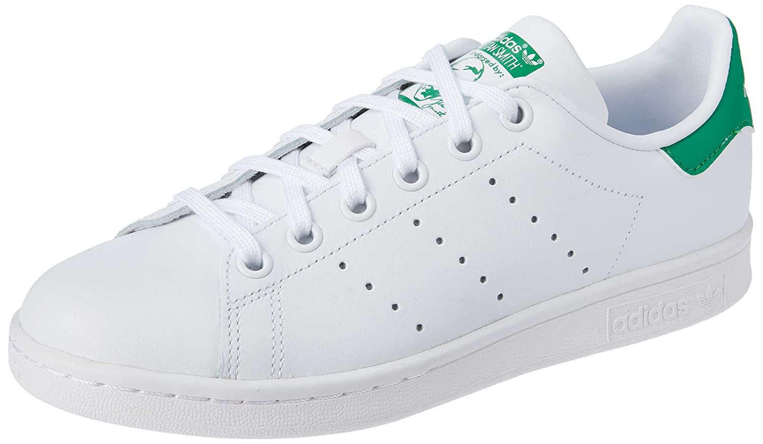 factory outlet sells super quality adidas Originals Stan Smith J Kids Sneaker White M20605