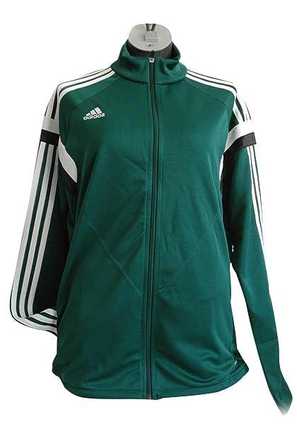 adidas Giacca Sportiva Donna Verde S: Amazon.it