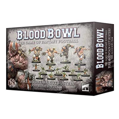 Games Workshop Warhammer Blood Bowl: Fire Mountain Gut Busters: Toys & Games