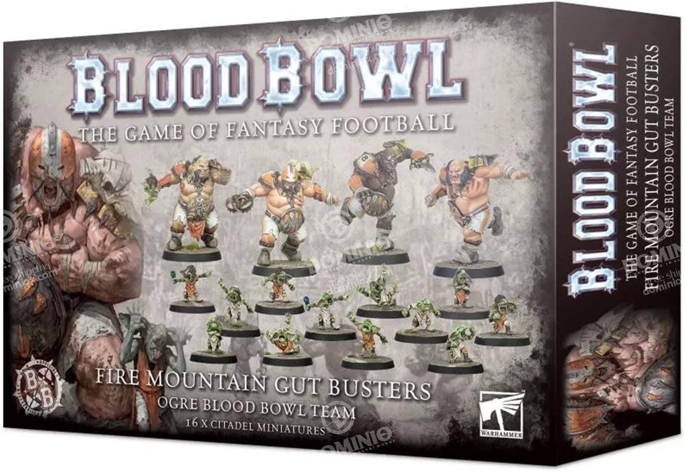 Games Workshop Warhammer Blood Bowl: Fire Mountain Gut Busters