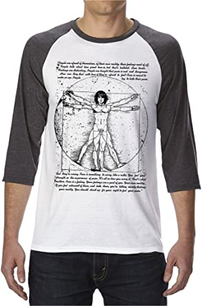 Jim Morrison Raglan T-Shirt Mens Womens Ladies