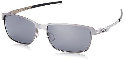 oakley sunglasses silver  Oakley Men\u0027s Tinfoil OO4083-02 Silver Rectangle Sunglasses: Oakley ...