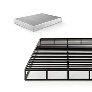 Zinus Victor 7.5 Inch Quick Lock Smart Box Spring / Mattress Foundation / Strong Steel Structure / Easy Assembly, Twin