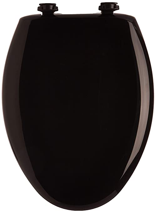 Black Elongated Toilet Seat.Bemis 1200slowt 047 Slow Sta Tite Elongated Closed Front Toilet Seat Black 18 75 X 14 00 X 2 31 Inches