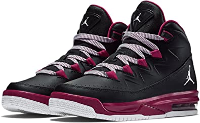 ... Nike JORDAN AIR DELUXE GG girls basketball-shoes 807714-0098.5Y - BLACK  ... 8fb6e88ea