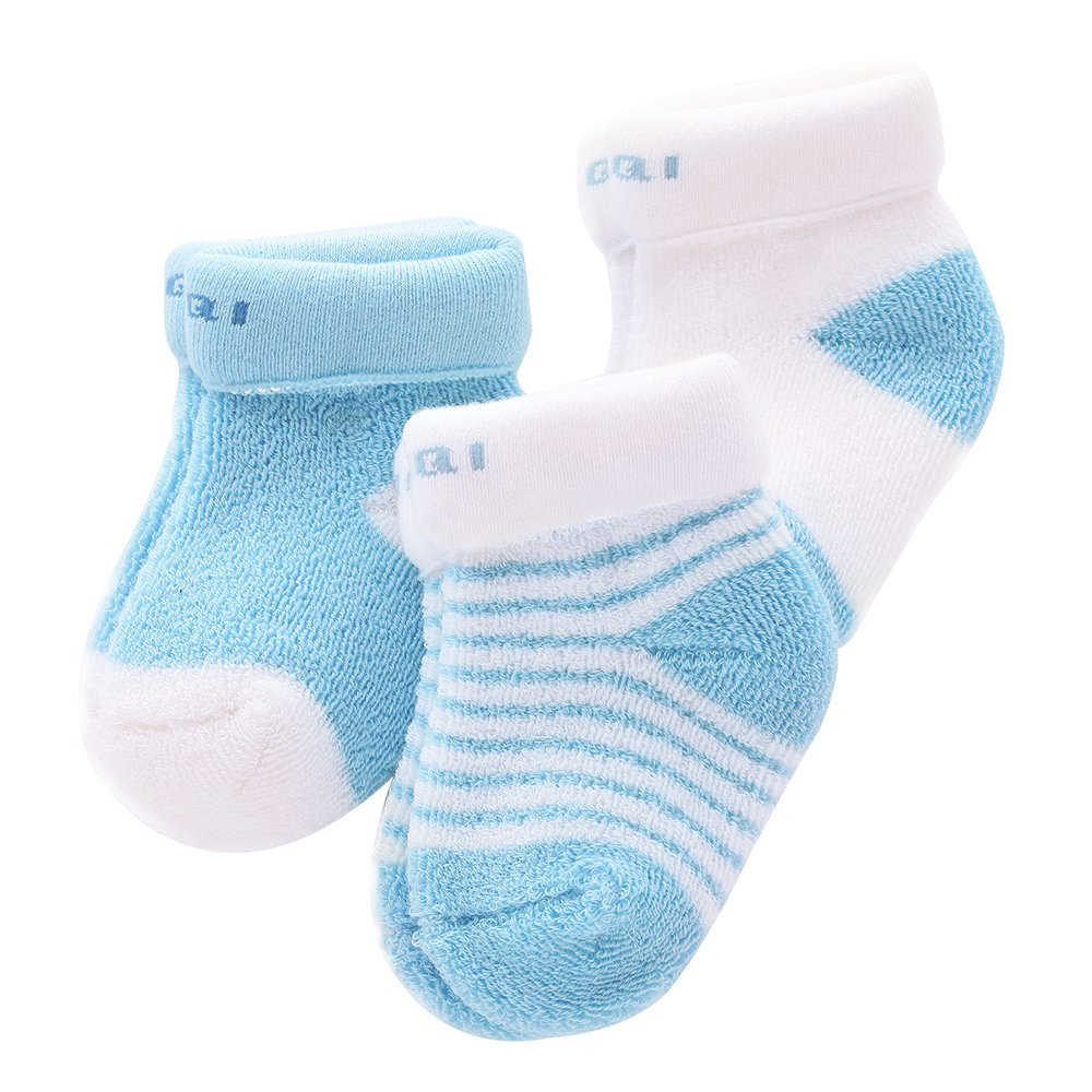3 Pairs Baby Socks Winter Warm Baby Girl Boy Socks Newborn Thick Sock