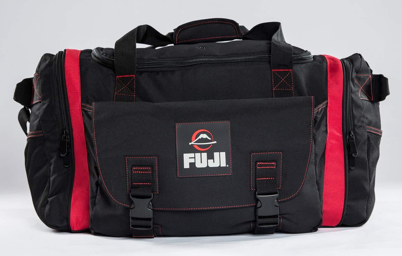 Fuji High Capacity Duffle Bags Black//Red Large Bag 556