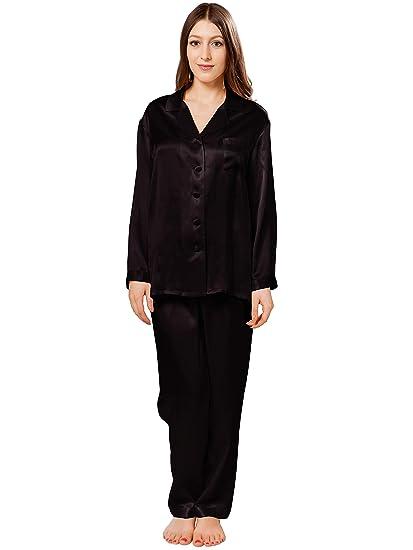 37d3ba1a0f ElleSilk Women s Silk Pyjama Set
