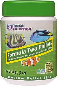 Ocean Nutrition Formula Two Pellets 7-Ounces (200 Grams) Jar - Medium Pellet Size
