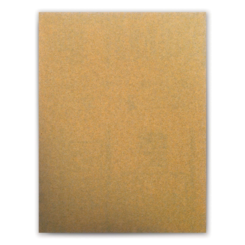 Hookit Pack of 50 4 Length x 3 Width C-Weight 3M Hook and Loop Attachment 4 Length x 3 Width TM Gold Paper Sheet 236U P180 Grit TM Aluminum Oxide