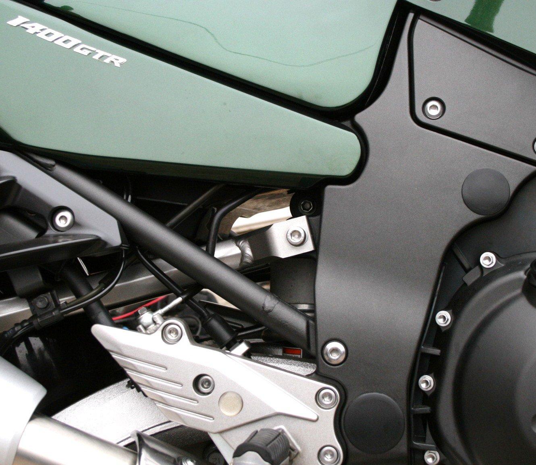HiFlow Filtro Motorcycle Air Filter For Kawasaki 2004 ZZR1200 C2H