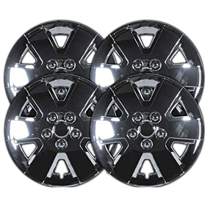 Amazon.com: Upgrade Your Auto 2008-2010 Ford Focus 15 Inch Chrome Clip-On Hubcap Covers: Automotive
