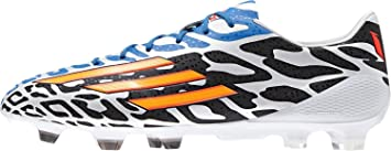 bc7d4a7dd22 F50 adizero TRX FG Messi Football Boots Running White Neon Orange - size 8