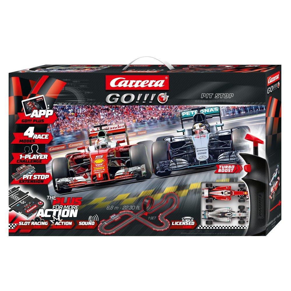 Carrera Toys- Pit Stop-Go Plus, 20066007